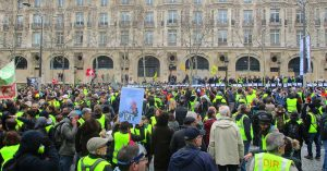 Yellow vests protest in March 2019